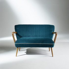 SIXTY Sofa, 2 seater, Teal