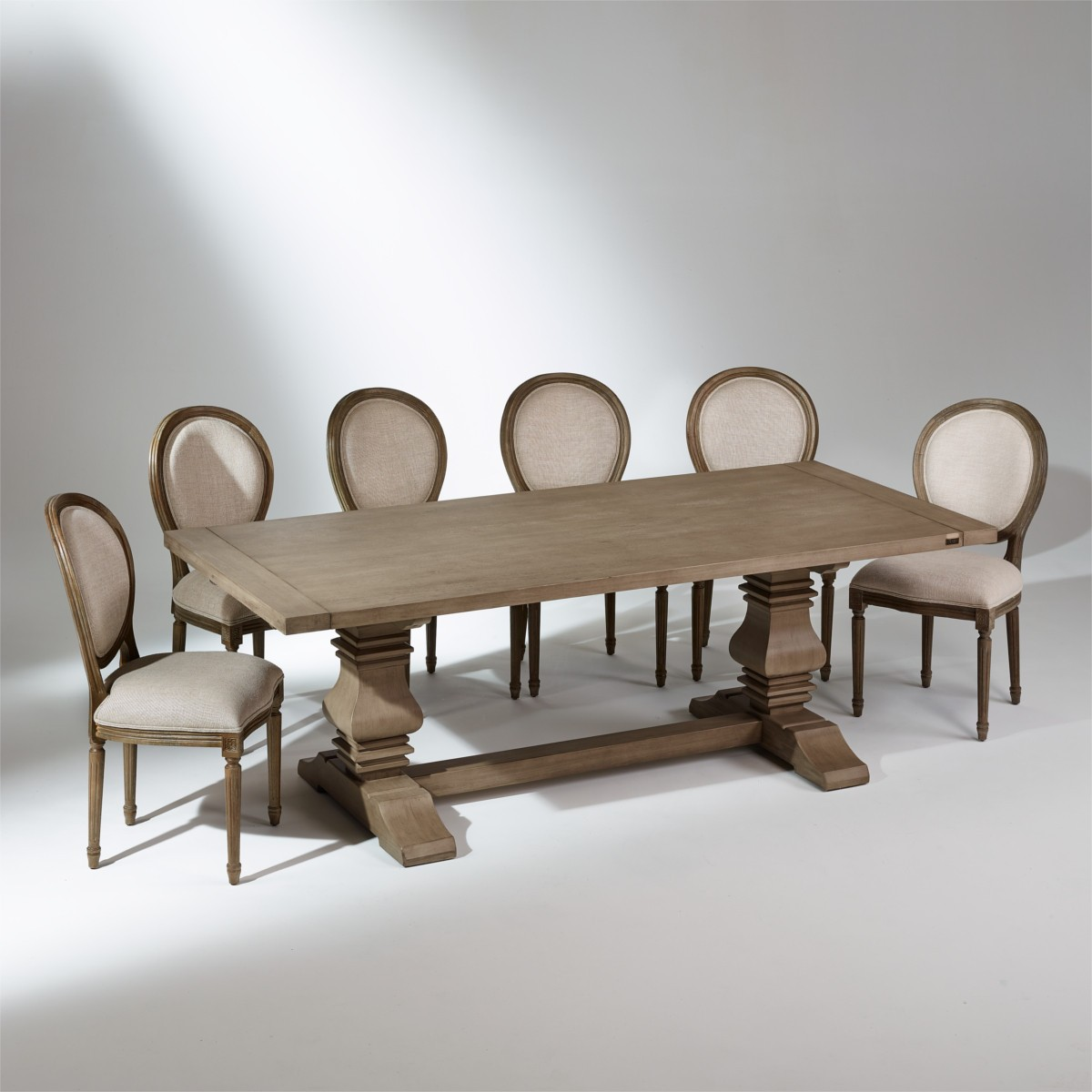 table monast re rallonges penelope 10 14 couverts. Black Bedroom Furniture Sets. Home Design Ideas