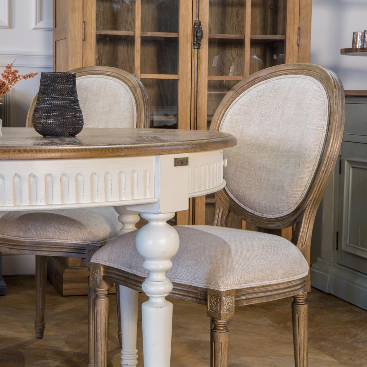 Chaise Salle A Manger Louis Xv table de salle à manger 4 à 16 couverts aude, extensible