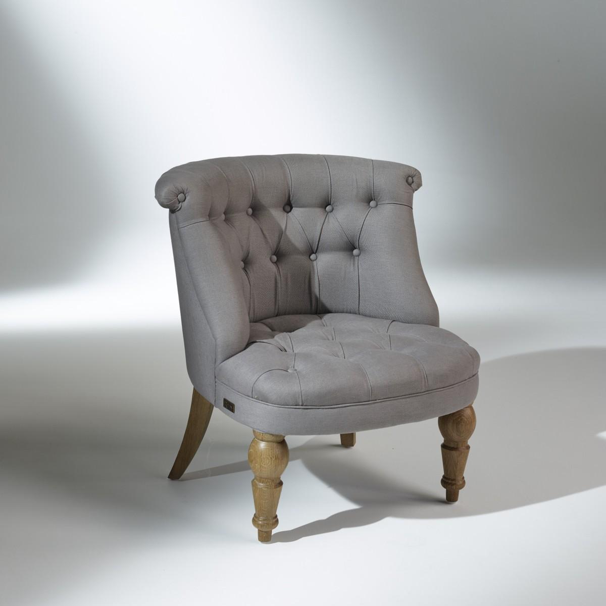 fauteuil crapaud joyce lin naturel. Black Bedroom Furniture Sets. Home Design Ideas