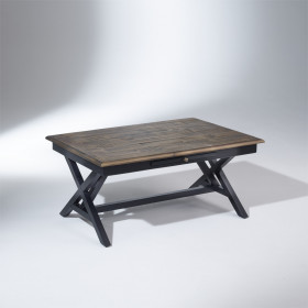 Table basse, en bois, rectangulaire, DAKOTA