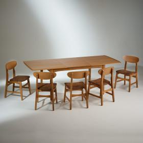 Table En Bois Massif Salle A Manger Chaise Robin Des Bois