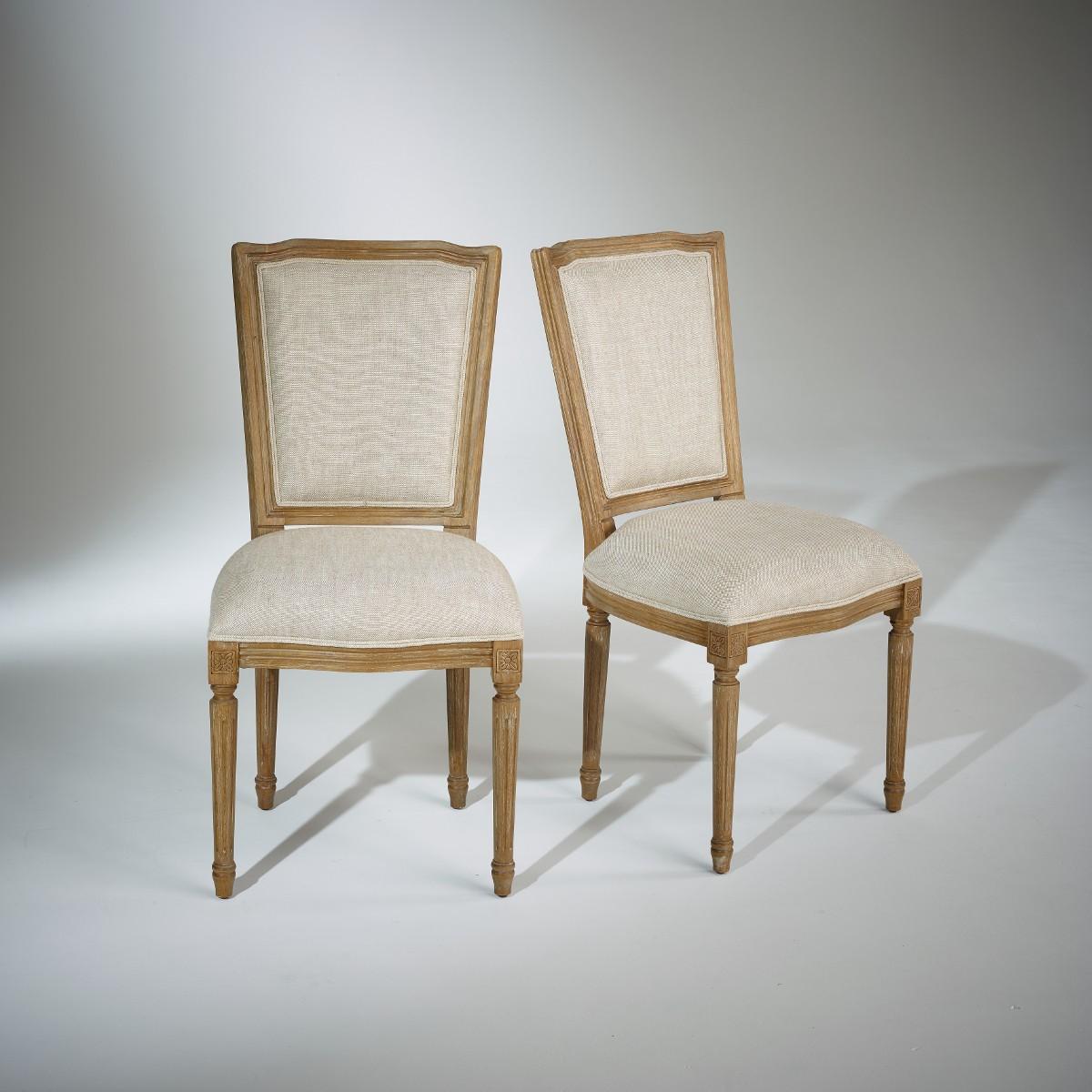 chaises marie antoinette patine bois c rus gris lin pr mium. Black Bedroom Furniture Sets. Home Design Ideas