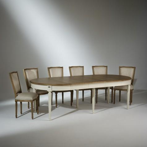Ensemble Table de Salle à Manger FLORENCE et 6 chaises Marie Antoinette