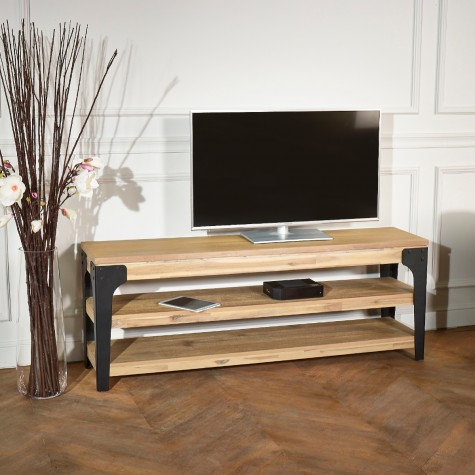 meuble tv baltimore robin des bois. Black Bedroom Furniture Sets. Home Design Ideas
