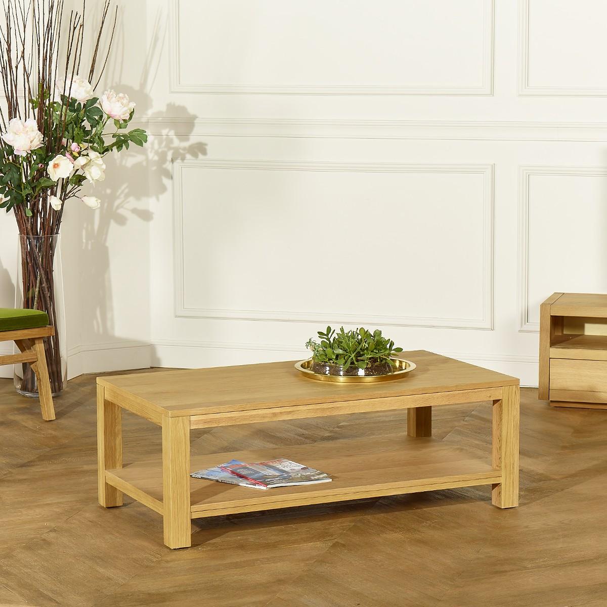 Aiken Coffee Table Oak