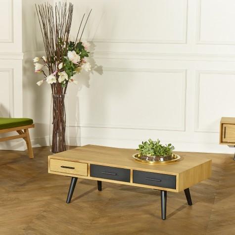 Table basse ALDWIN, chêne