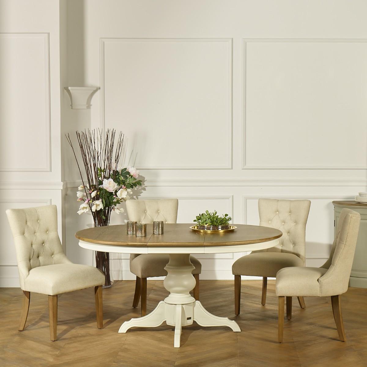 The Ariane Dining Table Cream Robin Des Bois