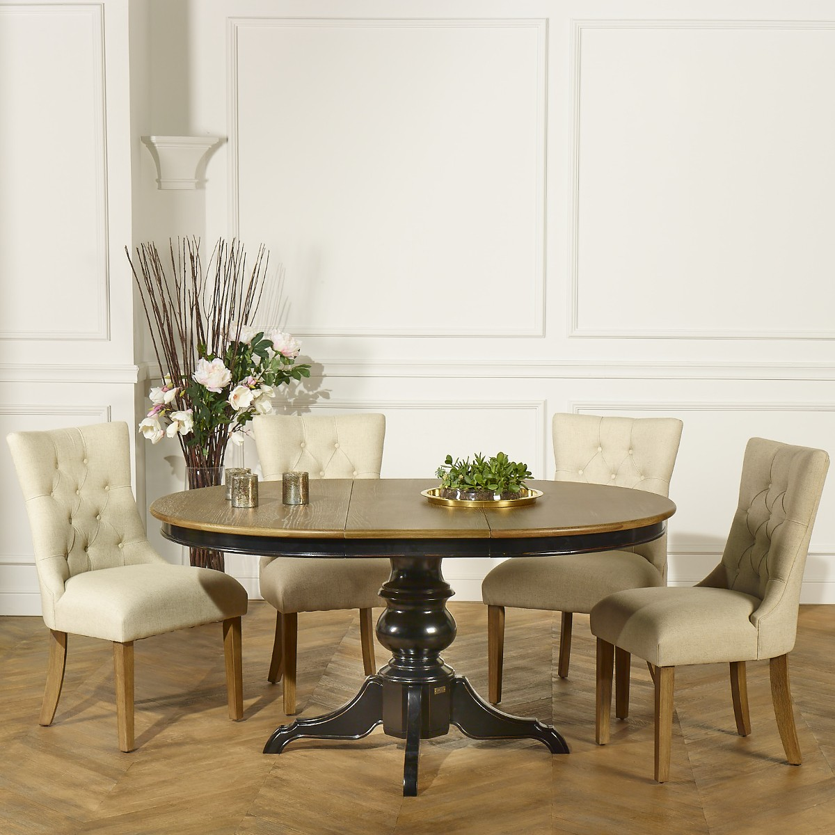 The Ariane Dining Table Black Robin Des Bois