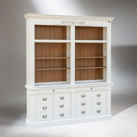 GUSTAVE Apothecary Bookshelf