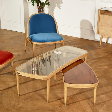 The YVONNE Coffee Table - Glass