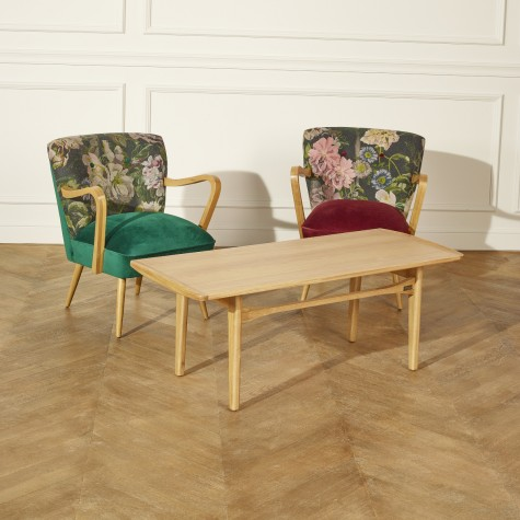 Table basse en bois, DALHIA