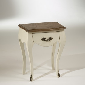 The ALICE Bedside Table - Ivory