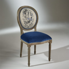 The MEDALLION Chairs - Indigo