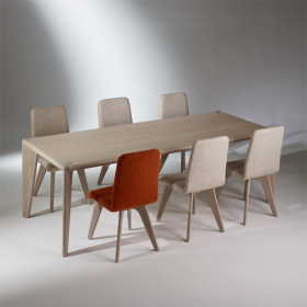 Table rectangulaire, chêne, 10 couverts, SIXTY