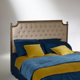 Venice Headboard, Solid Oak, Linen