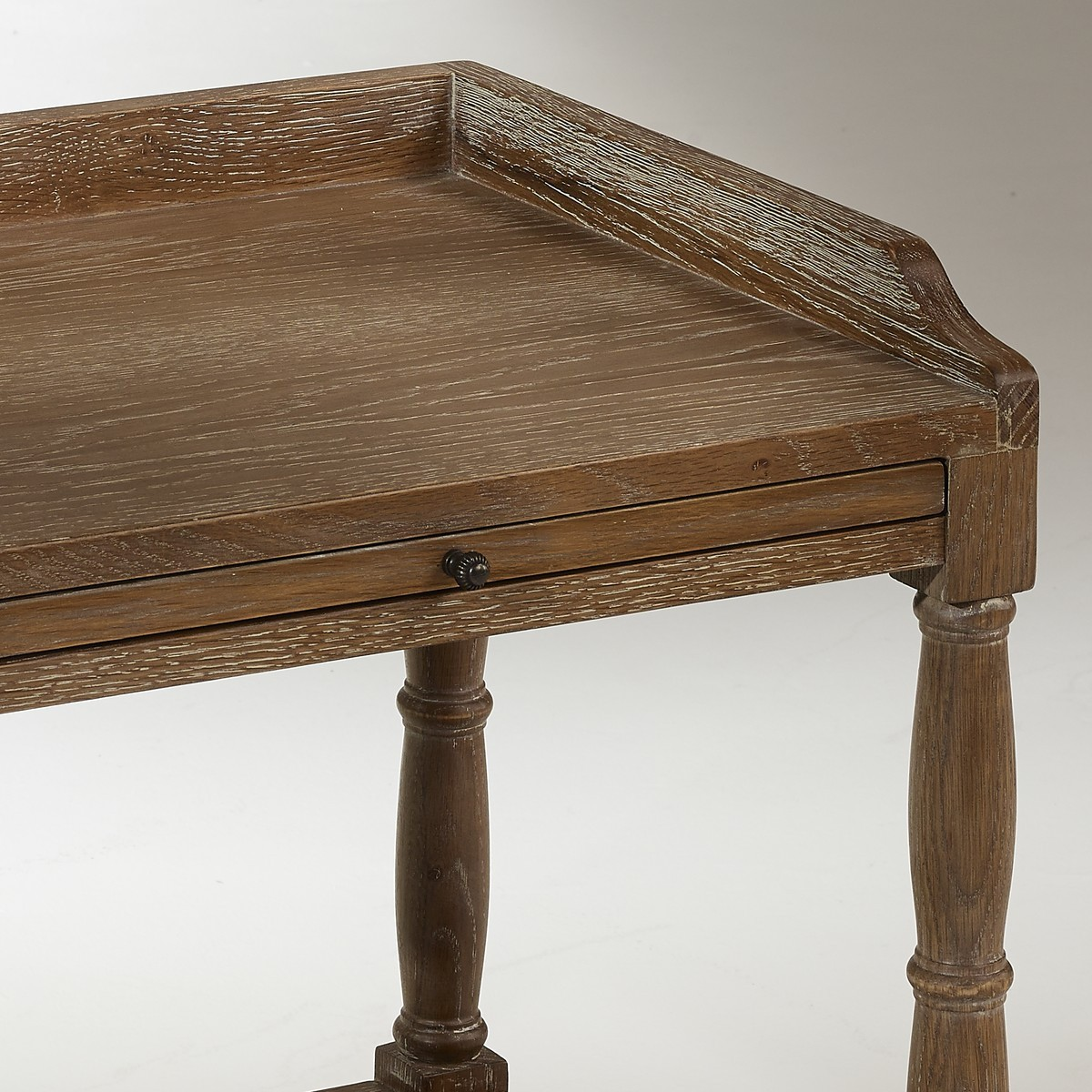 table de nuit en ch ne chopin 1 tiroir. Black Bedroom Furniture Sets. Home Design Ideas