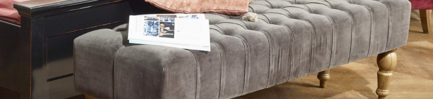 Bedroom Armchair, Bed Bench